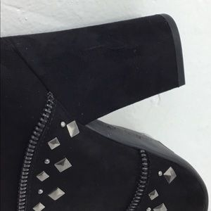 Jessica Simpson Shoes - Jessica Simpson Black Microsuede Ankle Booties